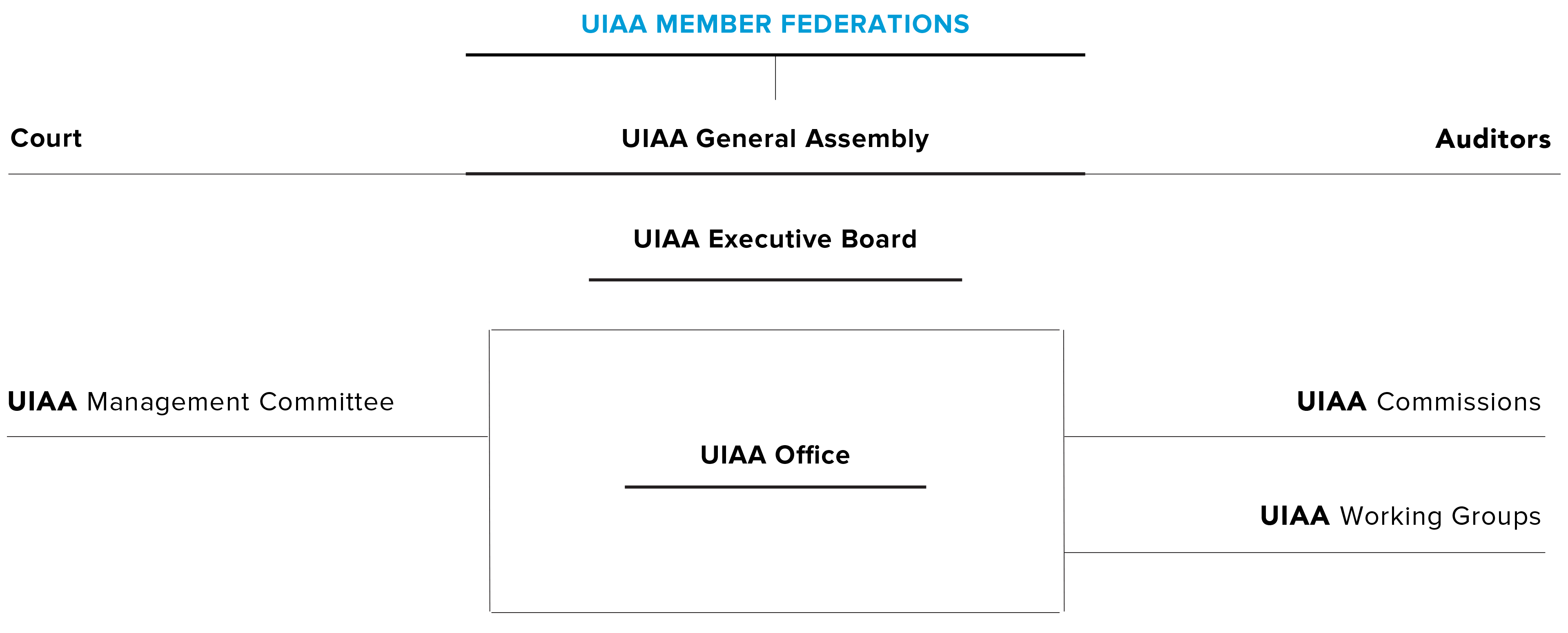 The UIAA Organisation Chat