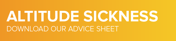 Altitude Sickness Advice Sheet
